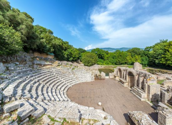 Ancient-theater-in-Butrint