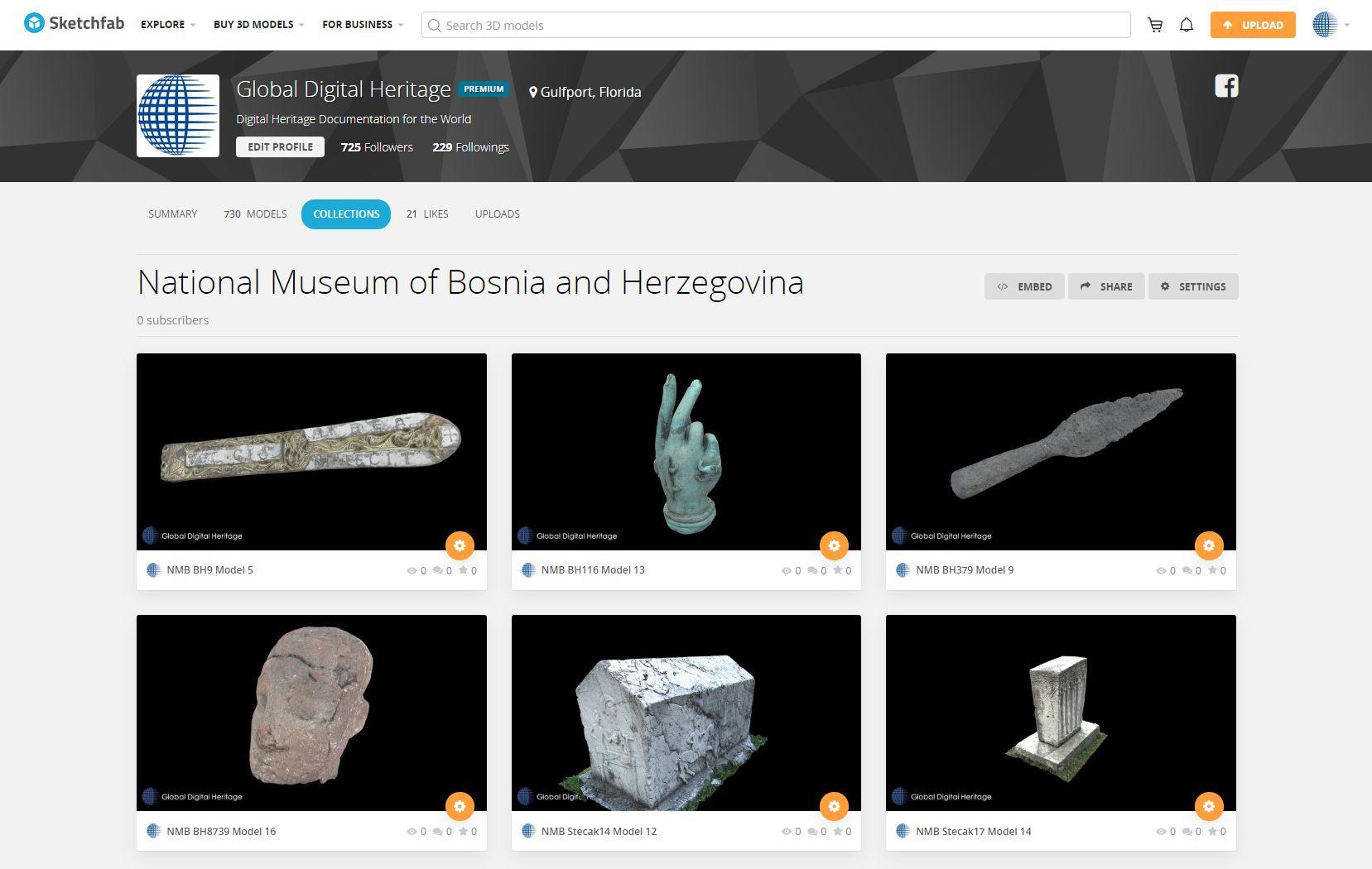 Zemaljski muzej predmeti